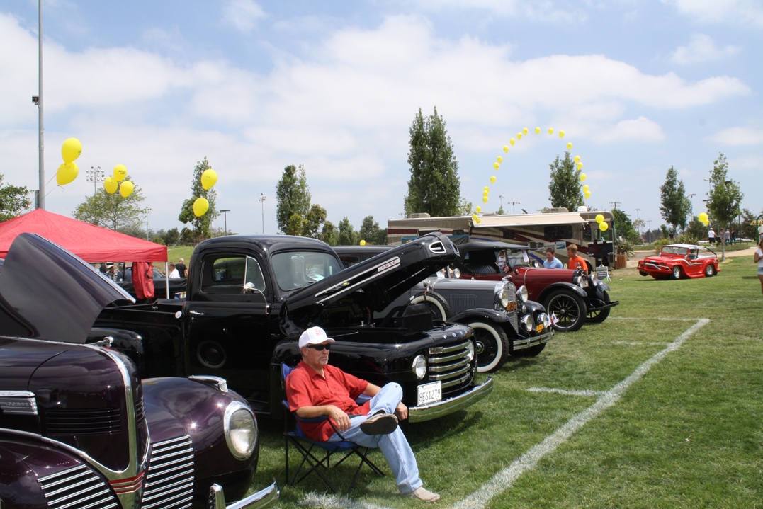 welcome to the fountain valley classic car and truck show